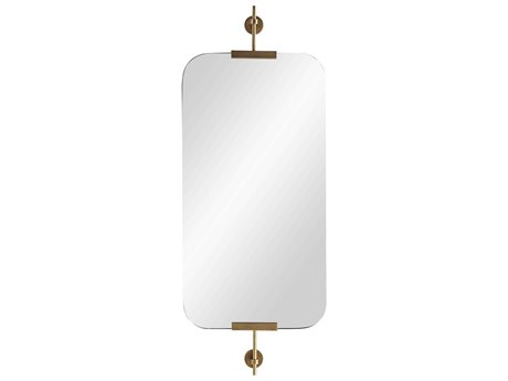 Arteriors Home Madden Antique Brass Wall Mirror ARH6872