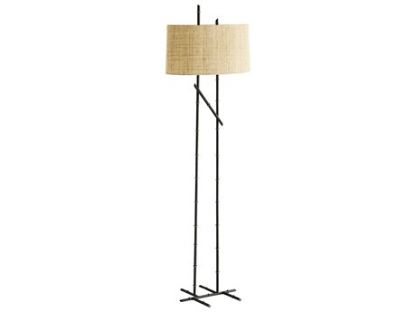 Arteriors Home Malik Blackened Floor Lamp ARH73146881