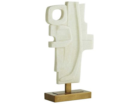 Arteriors Home Martin Faux Marble Sculpture ARH9545