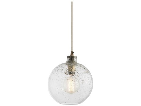 Arteriors Home Monica Sand Infused Glass 9'' Wide Pendant