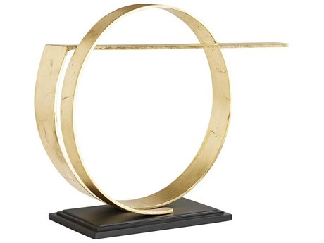 Arteriors Home Nasher Gold Leaf Sculpture ARH6902