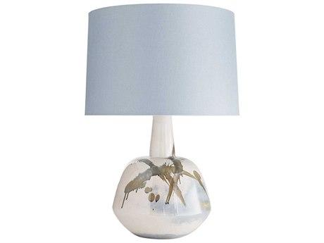 Arteriors Home Newberry Blush Abstract Reactive Glaze Buffet Lamp ARH11024858