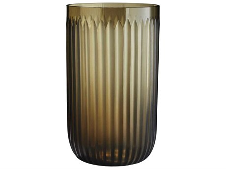 Arteriors Home Normont Tobacco Smoke Etched Vase ARH6898