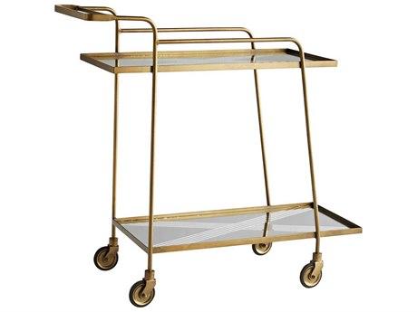 Arteriors Home Odette Antique Brass Cart ARH6913