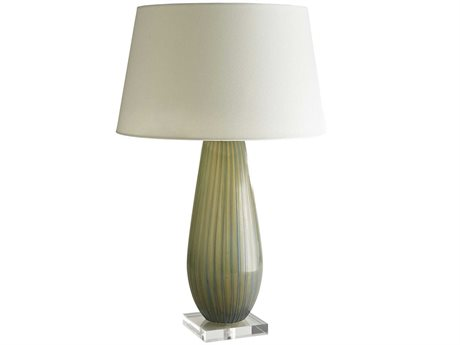 Arteriors Home Oralee Sea Pine Glass Buffet Lamp ARH17442664