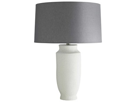 Arteriors Home Paloma White Sand Infused Buffet Lamp ARH17509349