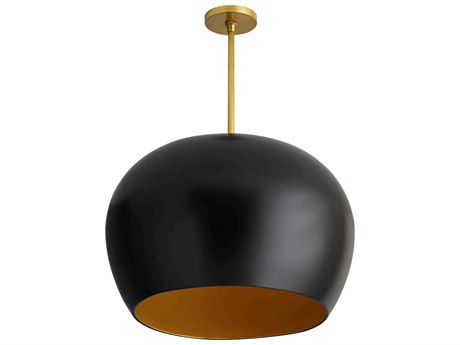 Arteriors Home Patton Matte Black 22'' Wide Pendant