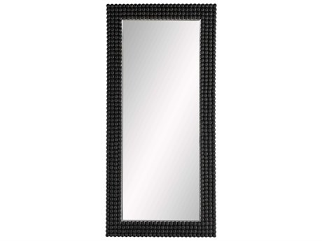 Arteriors Home Paxton Black Stained Floor Mirror