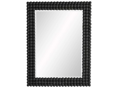 Arteriors Home Paxton Black Stained Wall Mirror ARH4616