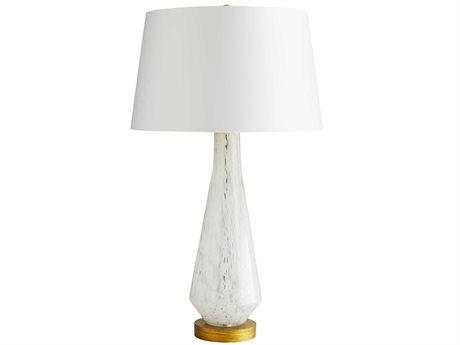 Arteriors Home Phoebe Opal Swirl Glass Buffet Lamp ARH17311524