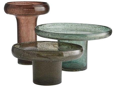 Arteriors Home Phoebe Dark Smoke Vase (Set of 3) ARH7607