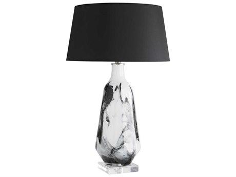 Arteriors Home Poe Howlite Glass Buffet Lamp ARH17519275