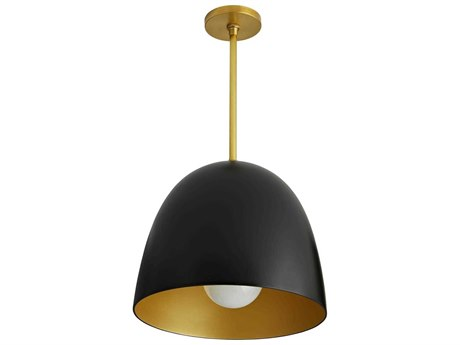 Arteriors Home Ponce Matte Black 15'' Wide Pendant ARH45055