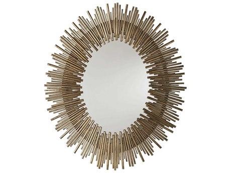 Arteriors Home Prescott Antiqued Gold Leaf Wall Mirror ARH6561