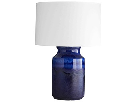 Arteriors Home Preston Lapis Reactive Glaze Buffet Lamp ARH15066199