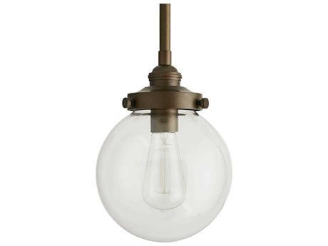 Arteriors Home Reeves Aged Brass Glass Outdoor Hanging Light ARH49211