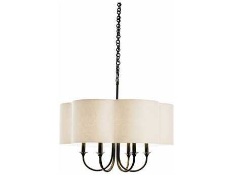 Arteriors Home Rittenhouse Bronze Six-Lights 26'' Wide Chandelier ARH89418