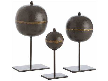 Arteriors Home Rocco Natural Iron Sculpture (Set of Three Sculptures) ARH6665