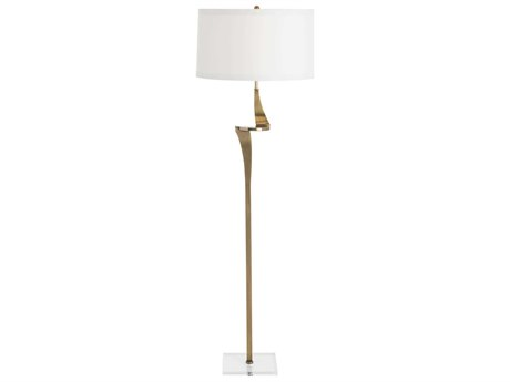 Arteriors Home Roosevelt Antique Brass Floor Lamp ARH79986386