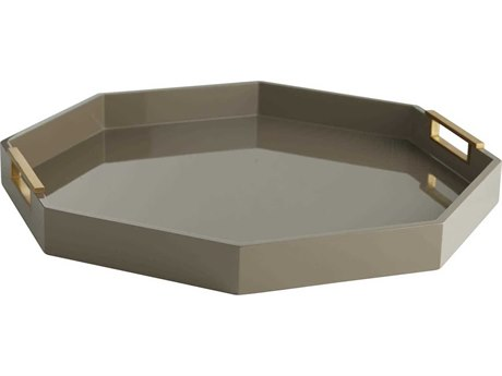 Arteriors Home Ross Taupe Serving Tray ARH5547