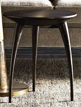 Arteriors Home Rotterdam Graphite 17'' Wide Round End Table ARH4588