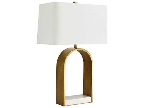 Arteriors Home Rylan Antique Brass Buffet Lamp ARH49310367