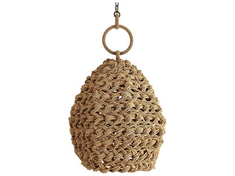 Arteriors Home Saxon Natural 24'' Wide Pendant ARH45058