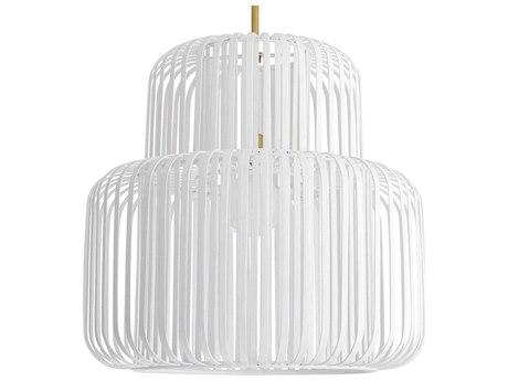Arteriors Home Shae White 25'' Wide Pendant ARH45057