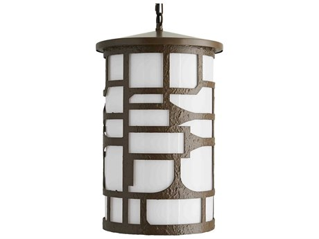 Arteriors Home Shani Aged Brass Glass Outdoor Hanging Light ARH49223