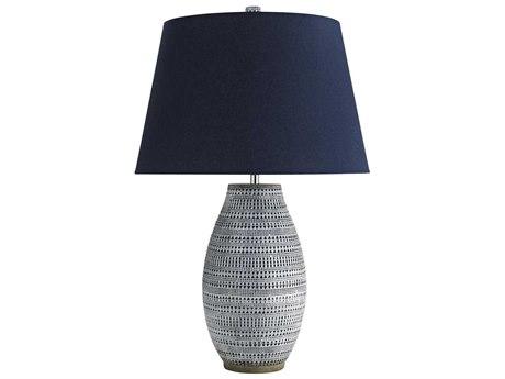 Arteriors Home Shawnee Admiral Blue Wash Buffet Lamp ARH45075342