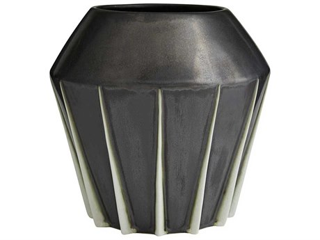 Arteriors Home Shiloh Gunmetal Vase ARH7558