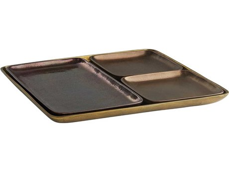 Arteriors Home Solano Distressed Copper Serving Tray (Set of 4) ARH4583