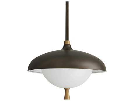 Arteriors Home Stanwick Aged Brass Outdoor Hanging Light ARH49220