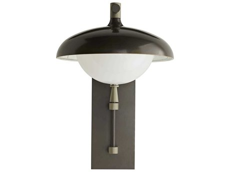 Arteriors Home Stanwick Aged Iron Outdoor Wall Light ARH49199