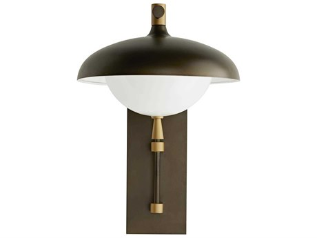 Arteriors Home Stanwick Aged Brass Outdoor Wall Light ARH49200
