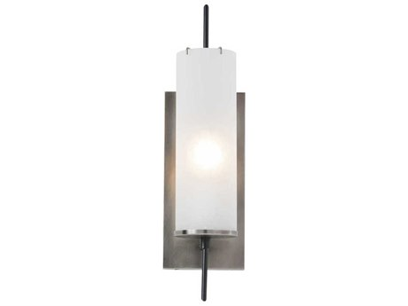 Arteriors Home Stefan Vintage Silver with Frosted Glass Wall Sconce ARH49006