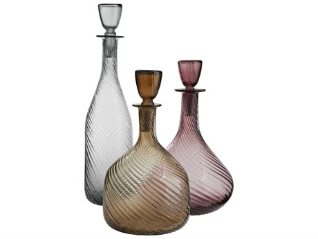 Arteriors Home Stella Amber Decanters (Set of 3) ARH7812