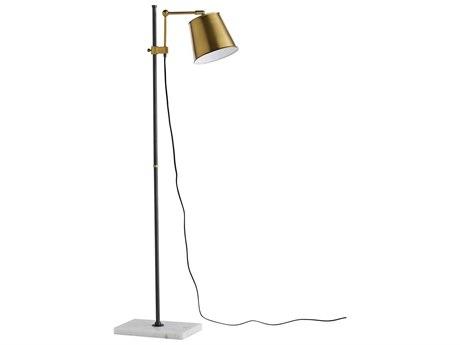 Arteriors Home Watson Antique Brass Floor Lamp ARH79006