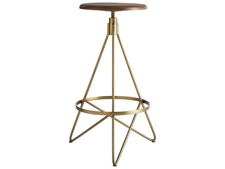 Arteriors Home Wyndham Natural Wax Barstool ARH6699