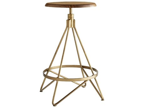 Arteriors Home Wyndham Natural Wax Counter Stool ARH6698
