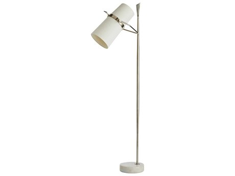 Arteriors Home Yasmin Vintage Silver Floor Lamp ARH79162