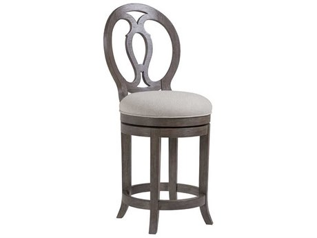 Artistica Home Axiom Grigio Swivel Counter Stool
