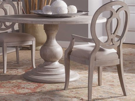 Artistica Home Axiom Bianco Dining Arm Chair ATS20058814001