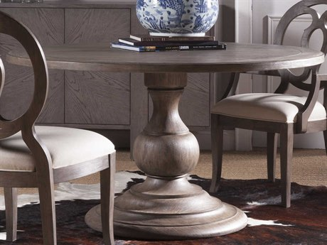 Artistica Home Axiom Grigio 54'' Wide Round Dining Table ATS2005870C41