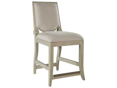 Artistica Beauvoir Natural Greige / Bianco Side Counter Height Stool