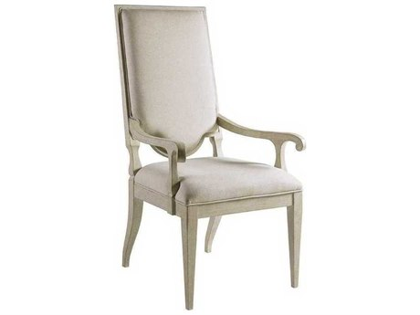 Artistica Beauvoir Natural Greige / Bianco Arm Dining Chair