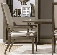 Beauvoir Natural Greige / Grigio Arm Dining Chair