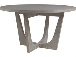Home Brio Bianco 54'' Wide Round Dining Table