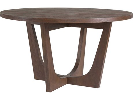 Artistica Home Brio Marrone 54'' Wide Round Dining Table ATS205887042