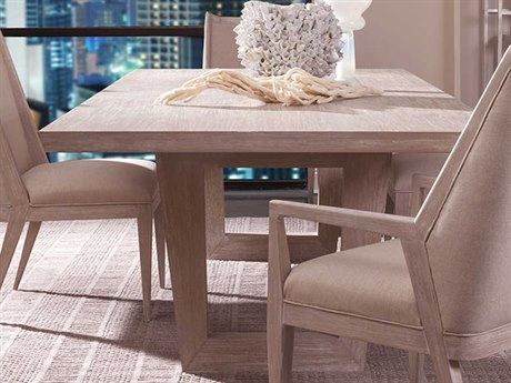Artistica Home Brio Bianco 88'' - 124''L x 48''W Rectangular Extension Dining Table ATS205887740